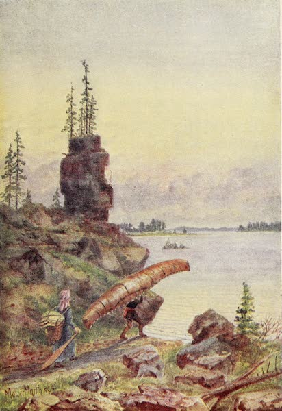 Canada, Painted and Described - Portage on Surprise Lake (1907)