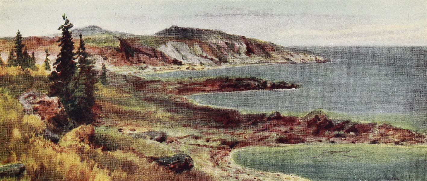 Canada, Painted and Described - North Shore, Lake Superior (1907)