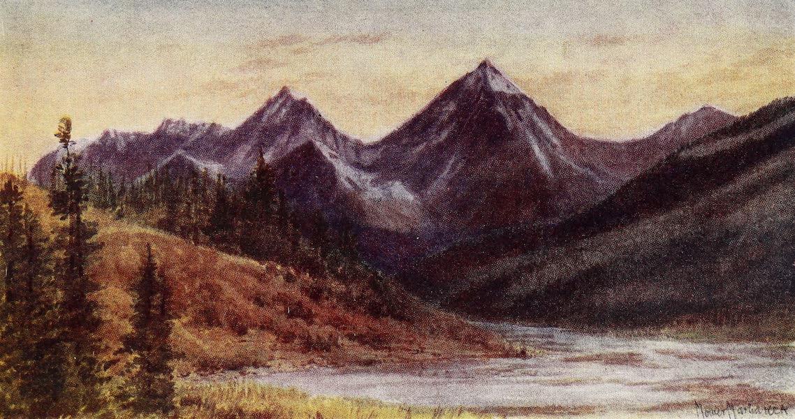 Canada, Painted and Described - Van Horne Range (Evening) (1907)
