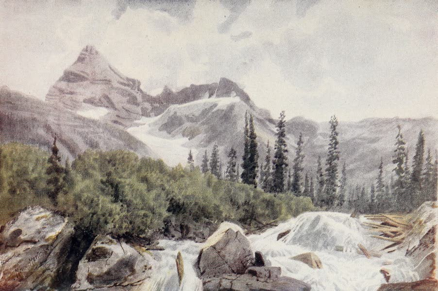 Canada, Painted and Described - Mount Sir Donald, in the Selkirks (1907)