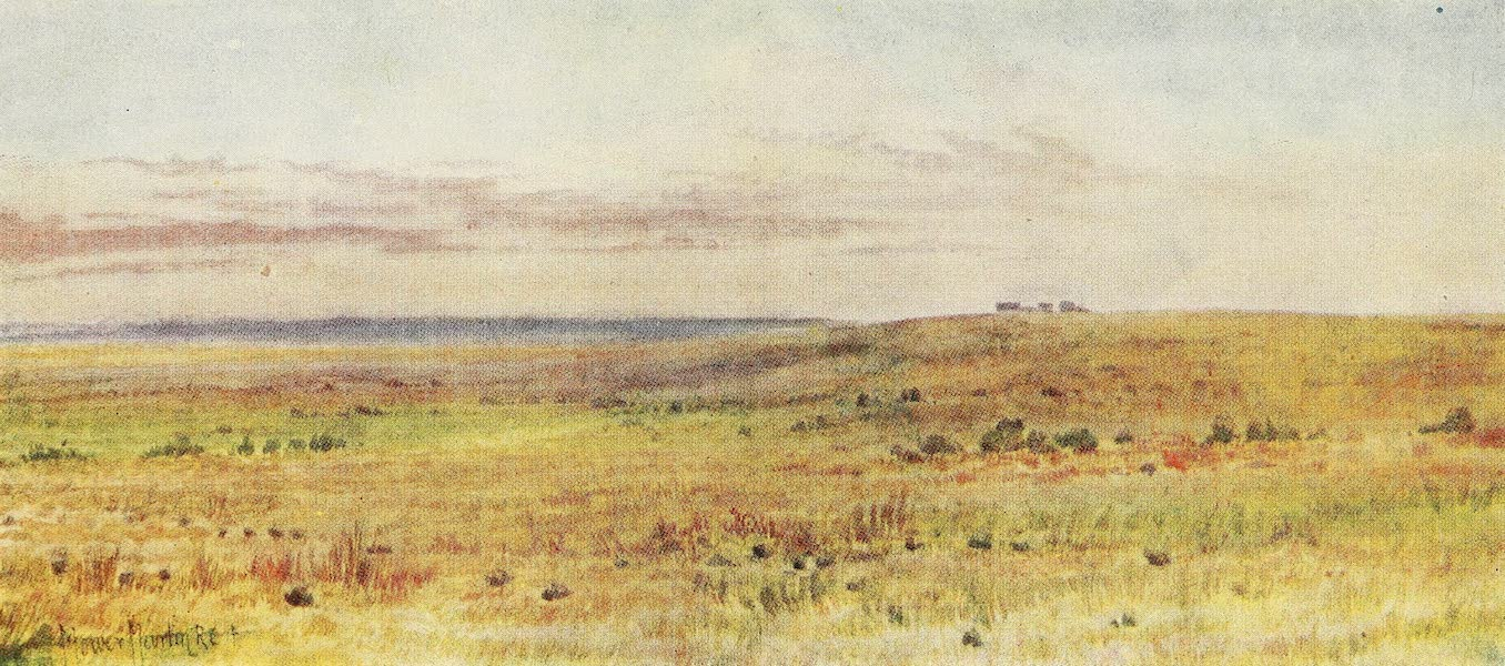 Canada, Painted and Described - Out on the Prairies (1907)