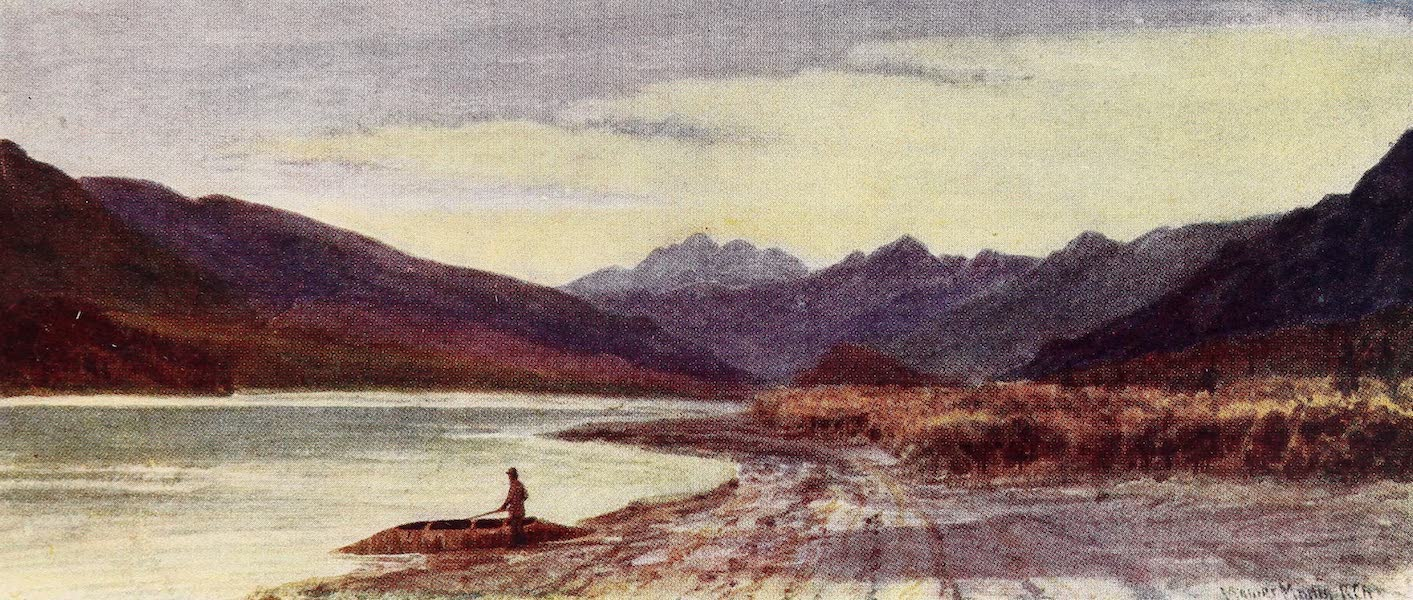 Canada, Painted and Described - On Arrow Lake, Columbia River (1907)