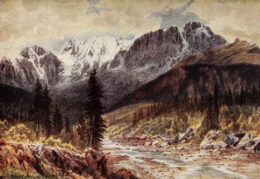 Canada, Painted and Described - Ottertail Range, Rockies, British Columbia (1907)
