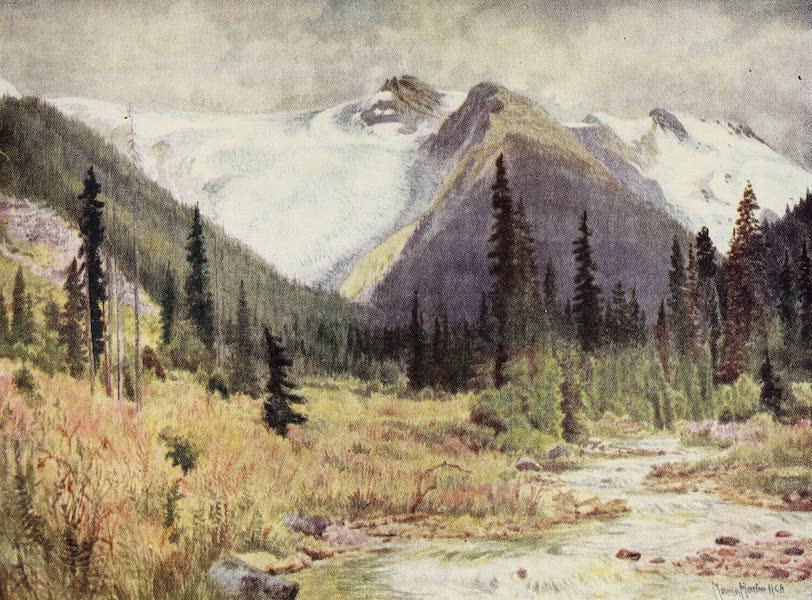 Canada, Painted and Described - Great Illecillewaet Glacier (1907)