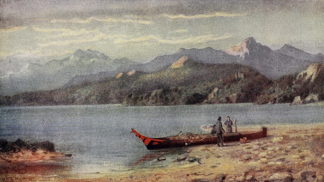 Canada, Painted and Described - Coast near Sechelt, British Columbia (1907)