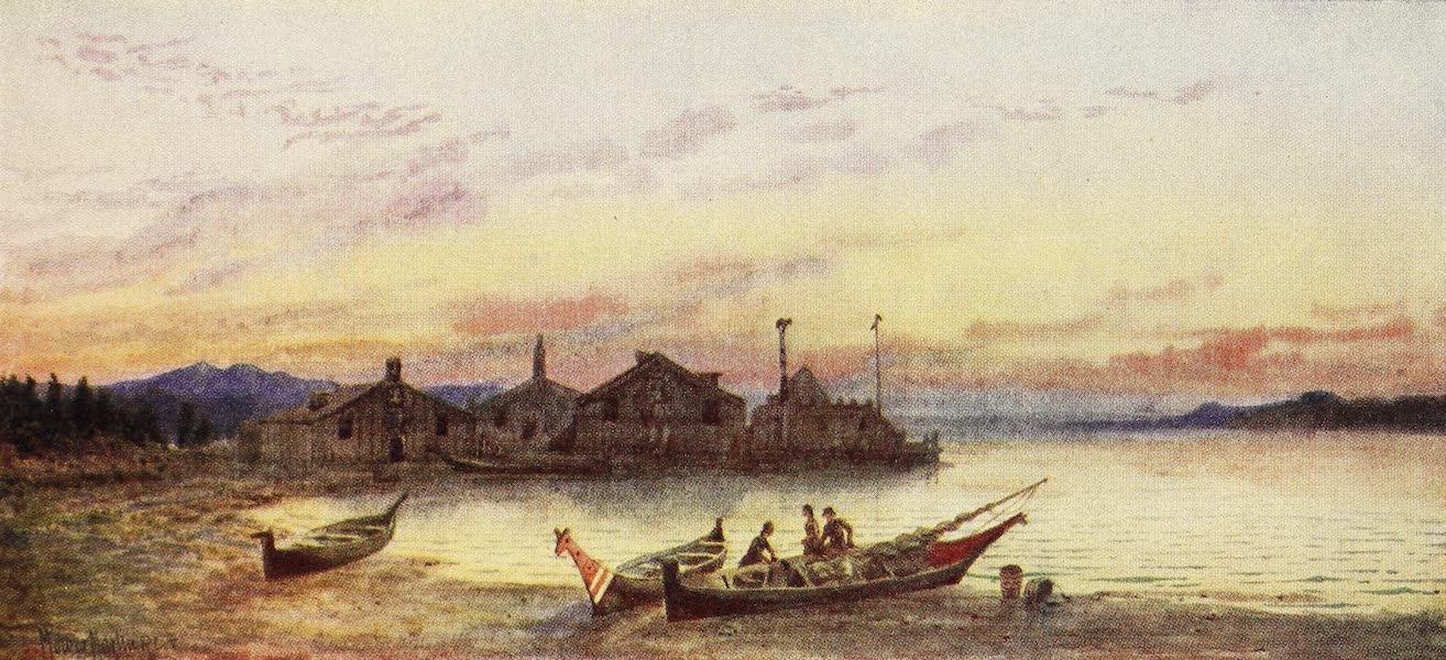 Canada, Painted and Described - Siwash Village, Pacific Coast (1907)