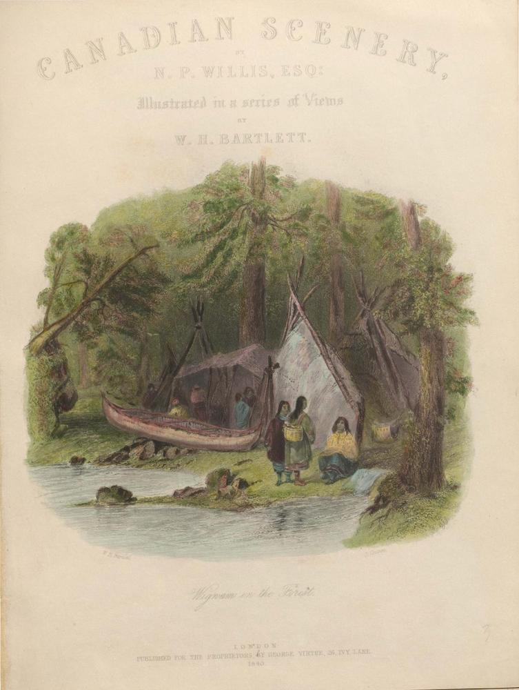 Canadian Scenery Illustrated: Volume 1 (1865)