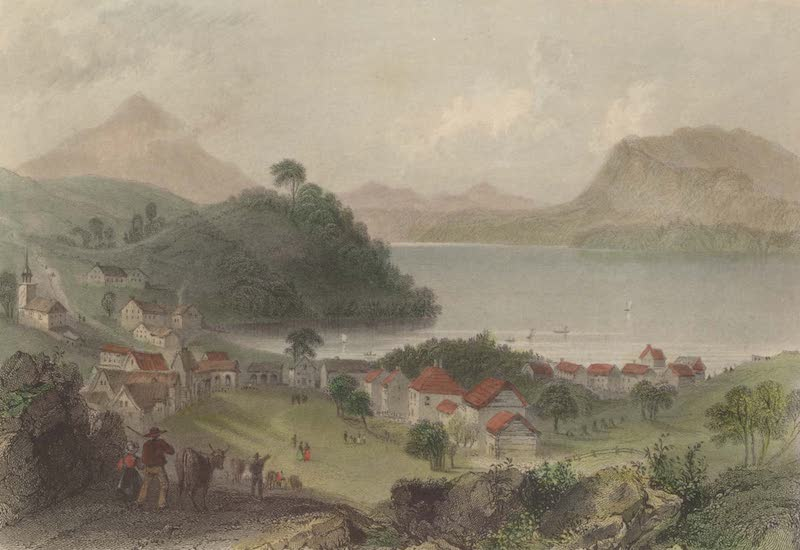 Canadian Scenery Illustrated: Volume 1 - Georgeville (1865)