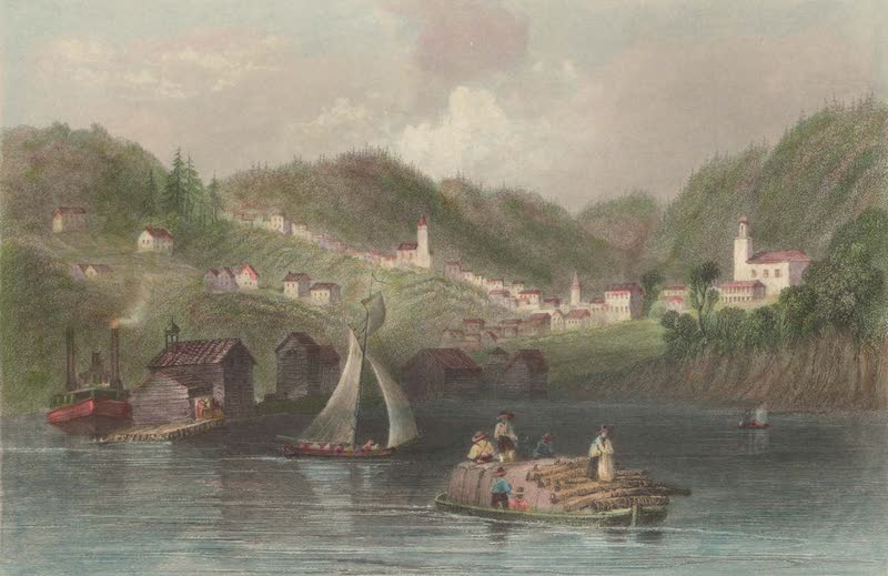 Canadian Scenery Illustrated: Volume 1 - Port Hope (1865)