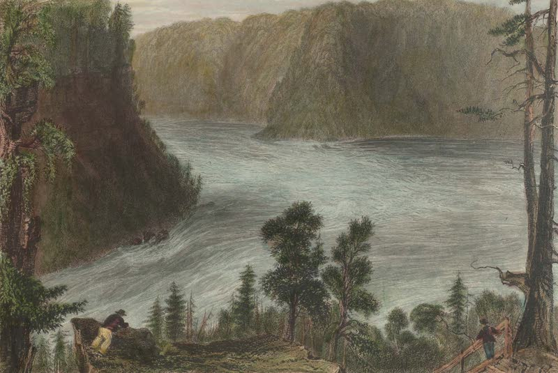 Canadian Scenery Illustrated: Volume 1 - The Whirlpool (on the Niagara) (1865)