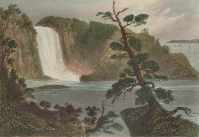 Canadian Scenery Illustrated: Volume 1 - Monmorency Cove (near Quebec) (1865)