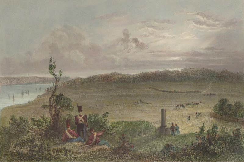 Canadian Scenery Illustrated: Volume 1 - The Plains of Abraham, near Quebec (The spot where General Wolfe fell) (1865)
