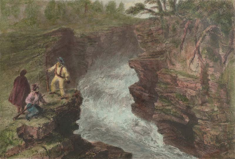 Canadian Scenery Illustrated: Volume 1 - Les Marches Naturelles (near Quebec) (1865)