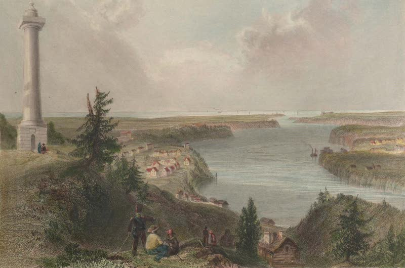 Canadian Scenery Illustrated: Volume 1 - General Brock's Monument, above Queenstown (1865)