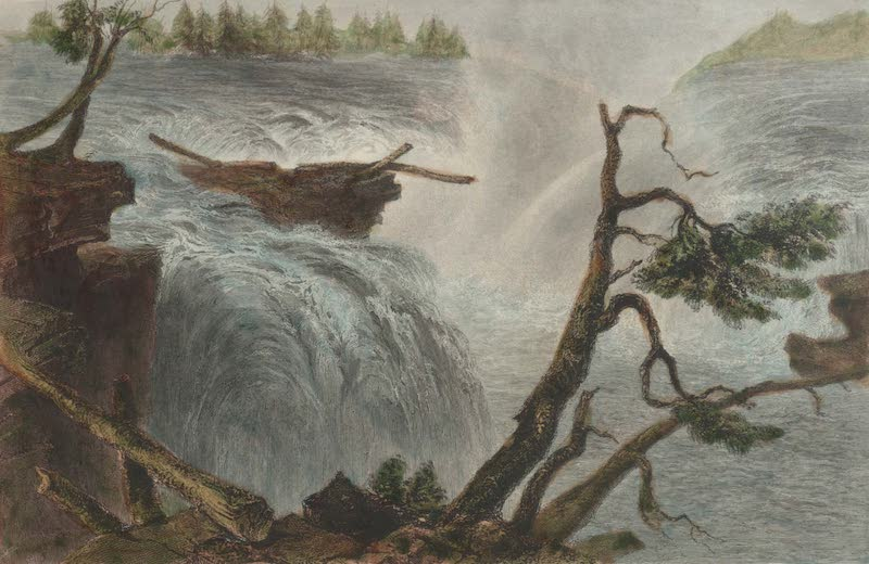 Canadian Scenery Illustrated: Volume 1 - The Chaudiere Near Bytown (1865)