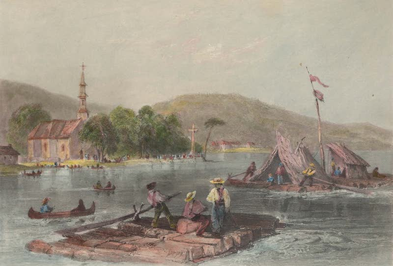 Canadian Scenery Illustrated: Volume 1 - Lake of the Two Mountains (1865)