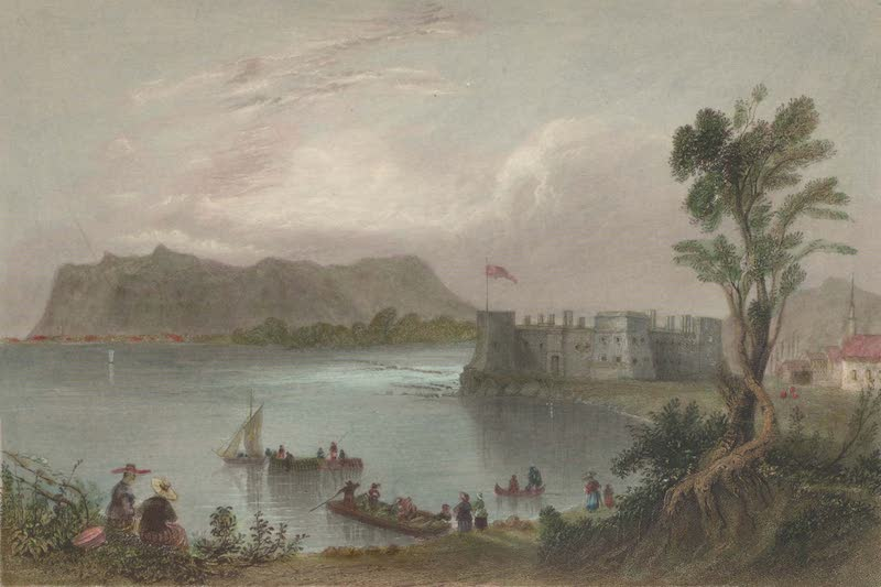 Canadian Scenery Illustrated: Volume 1 - Fort Chambly (1865)