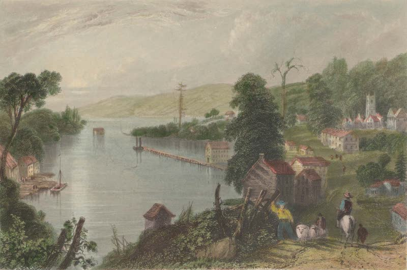 Canadian Scenery Illustrated: Volume 1 - Hallowell (Bay of Quebec) (1865)