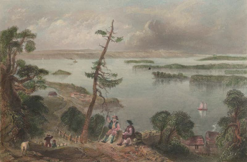 Canadian Scenery Illustrated: Volume 1 - Scene in the bay of Quinte (1865)