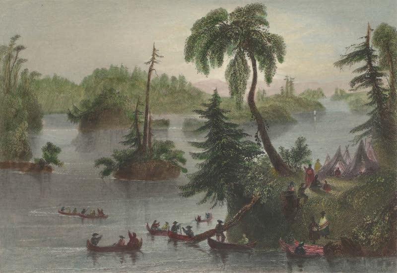Canadian Scenery Illustrated: Volume 1 - Scene among the Thousand Isles (1865)