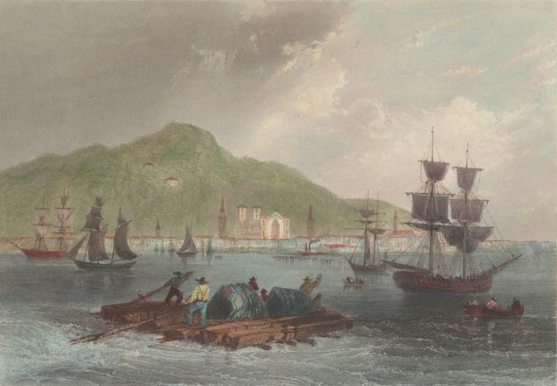 Canadian Scenery Illustrated: Volume 1 - Montreal (from the St. Laurence) (1865)