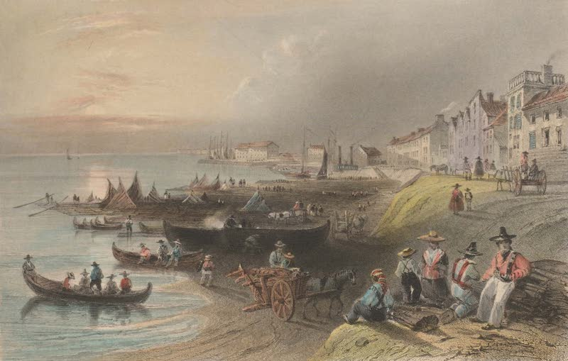 Canadian Scenery Illustrated: Volume 1 - The St. Laurence, at Montreal (1865)