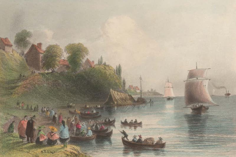 Canadian Scenery Illustrated: Volume 1 - The Three Rivers (River St. Laurence) (1865)