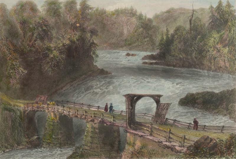 Canadian Scenery Illustrated: Volume 1 - Montmorency Bridge (1865)