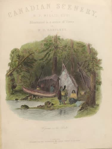 Canadian Scenery Illustrated: Volume 1 - Title Page (1865)