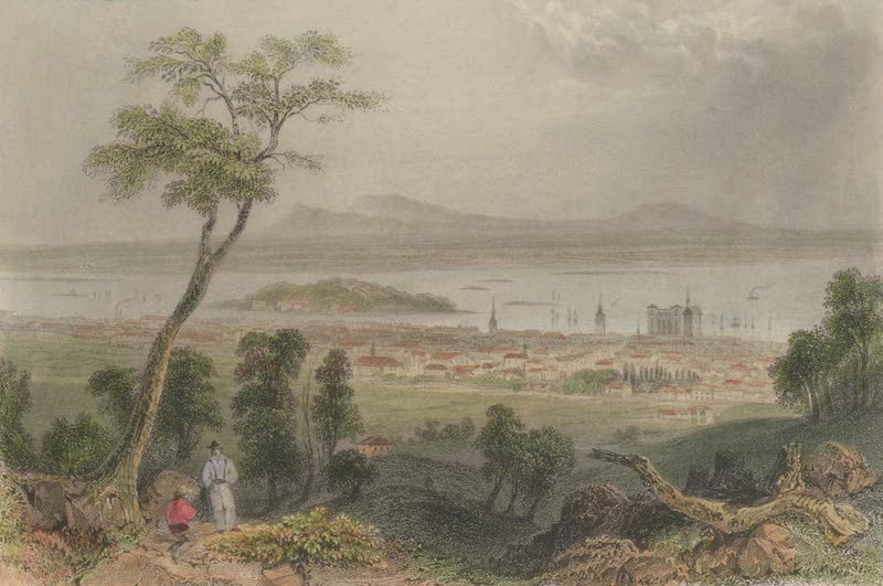 Canadian Scenery Illustrated: Volume 2 - Montreal, from the Mountain (1865)
