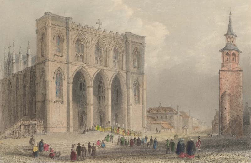 Canadian Scenery Illustrated: Volume 2 - The Cathedral, Montreal (1865)