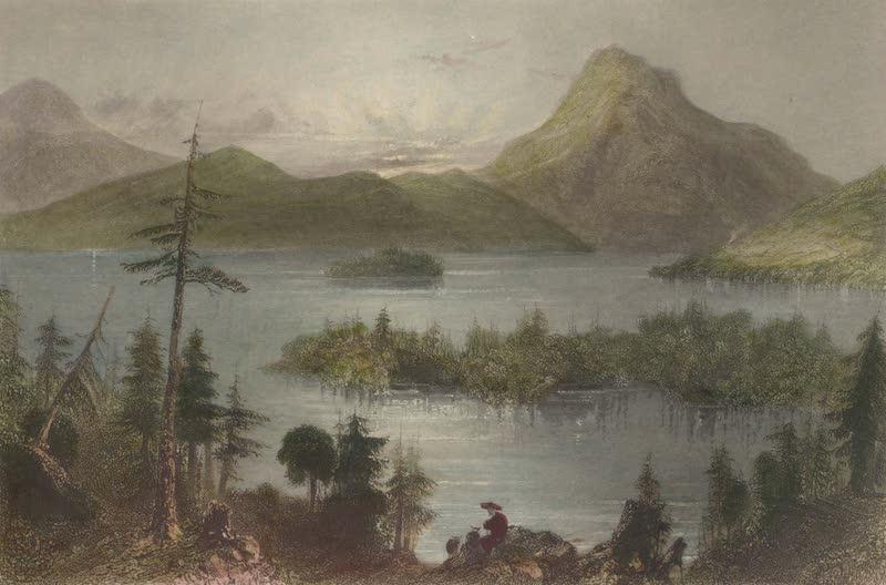 Canadian Scenery Illustrated: Volume 2 - The Owls Head (Lake Memphremagog) (1865)