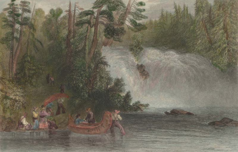 Canadian Scenery Illustrated: Volume 2 - Portage des Chats (1865)