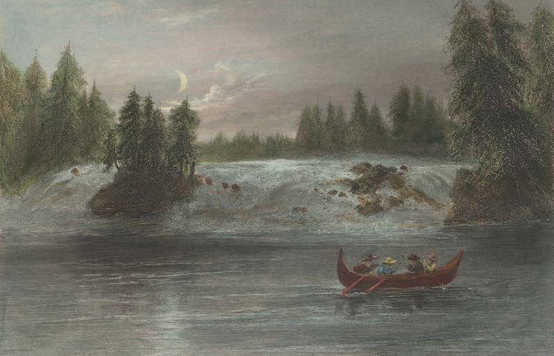 Canadian Scenery Illustrated: Volume 2 - Falls of the Ottawa at Les Chats (1865)