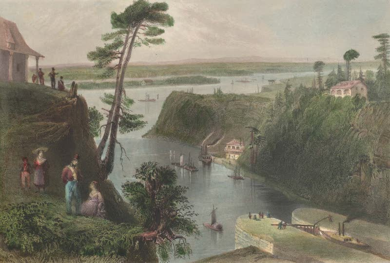 Canadian Scenery Illustrated: Volume 2 - The Rideau Canal, Bytown (1865)
