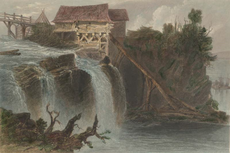 Canadian Scenery Illustrated: Volume 2 - Mill on the Rideau River, near Bytown (1865)