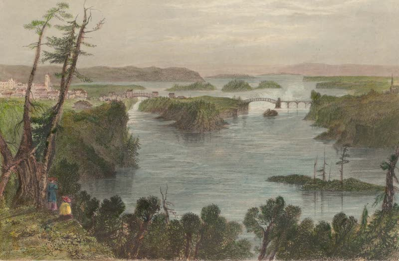 Canadian Scenery Illustrated: Volume 2 - The Ottawa River at Bytown (1865)