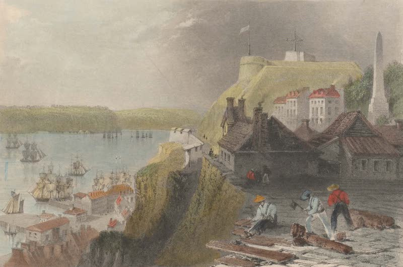 Canadian Scenery Illustrated: Volume 2 - The Citadel of Quebec (1865)