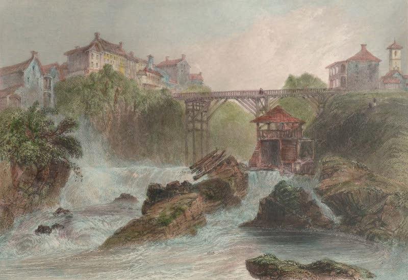 Canadian Scenery Illustrated: Volume 2 - Bridge at Sherbrooke (Eastern Townships) (1865)