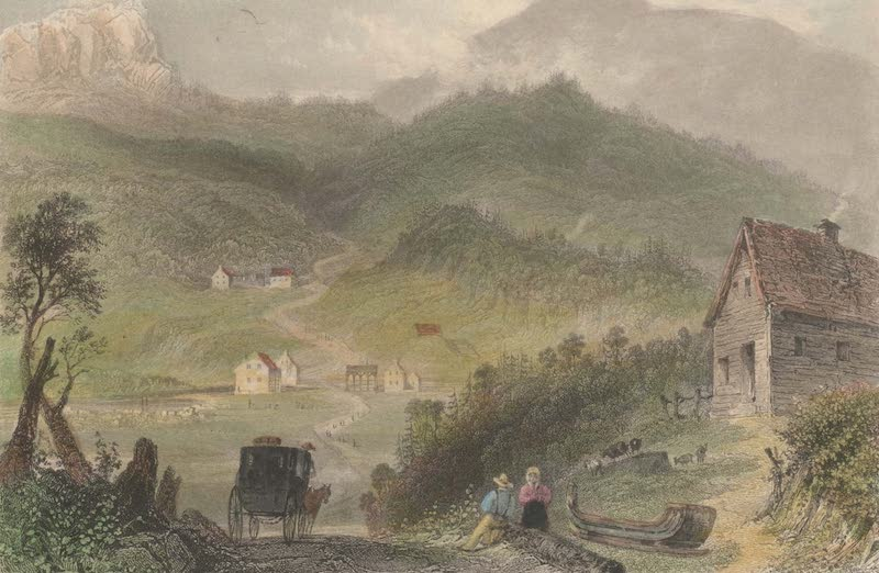 Canadian Scenery Illustrated: Volume 2 - Pass of Bolton, Eastern Townships (1865)