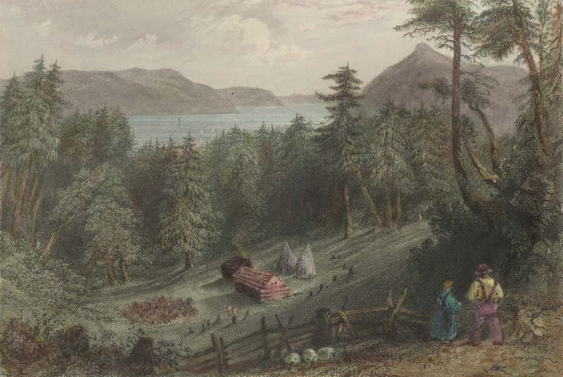 Canadian Scenery Illustrated: Volume 2 - Davis' Clearing (Eastern Townships) (1865)