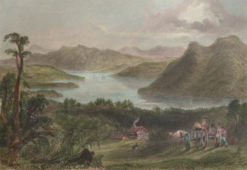 Canadian Scenery Illustrated: Volume 2 - Lake Massawhippy (Eastern Townships) (1865)