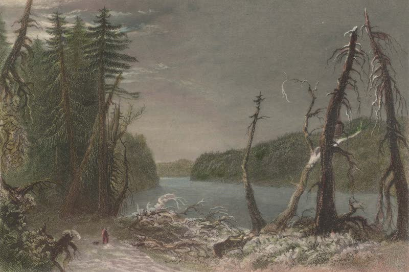 Canadian Scenery Illustrated: Volume 2 - Orford Lake (1865)