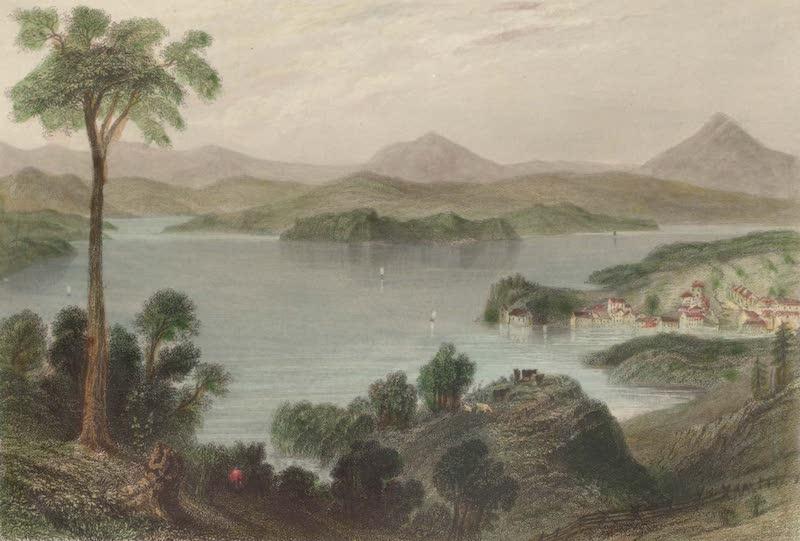 Canadian Scenery Illustrated: Volume 2 - Lake Memphremagog (near Georgeville) (1865)