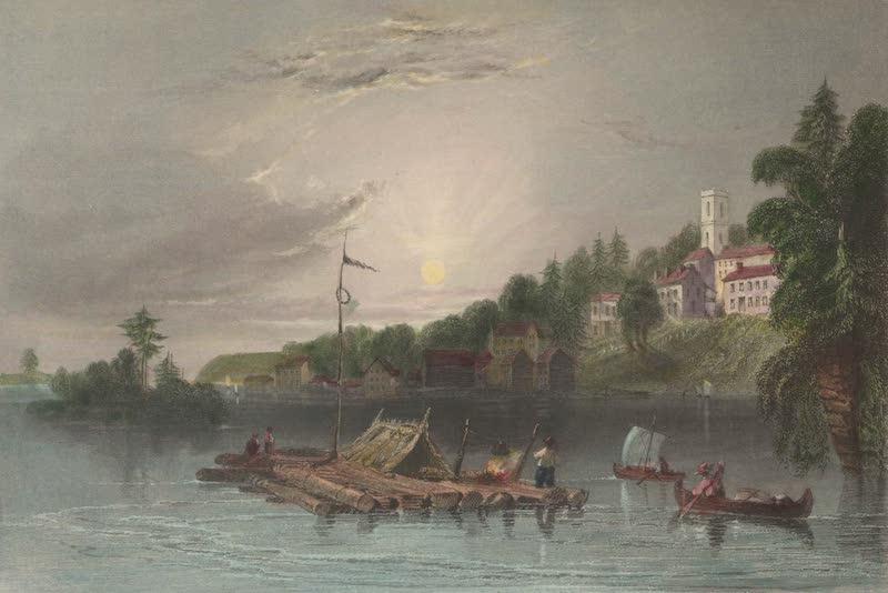 Canadian Scenery Illustrated: Volume 2 - Brockville, St. Laurence (1865)