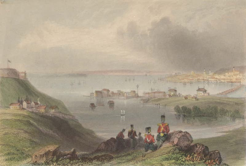 Canadian Scenery Illustrated: Volume 2 - Kingston, Lake Ontario (1865)
