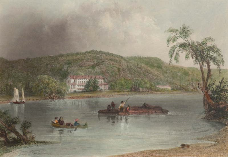 Canadian Scenery Illustrated: Volume 2 - The Governor's House, Fredericton (1865)