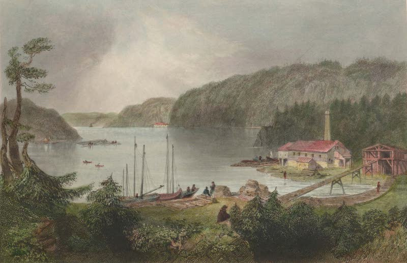 Canadian Scenery Illustrated: Volume 2 - Indian Town (River St. John) (1865)