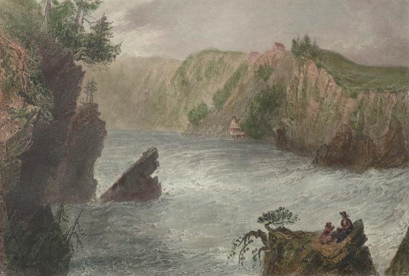 Canadian Scenery Illustrated: Volume 2 - Split Rock (St. John River) (1865)