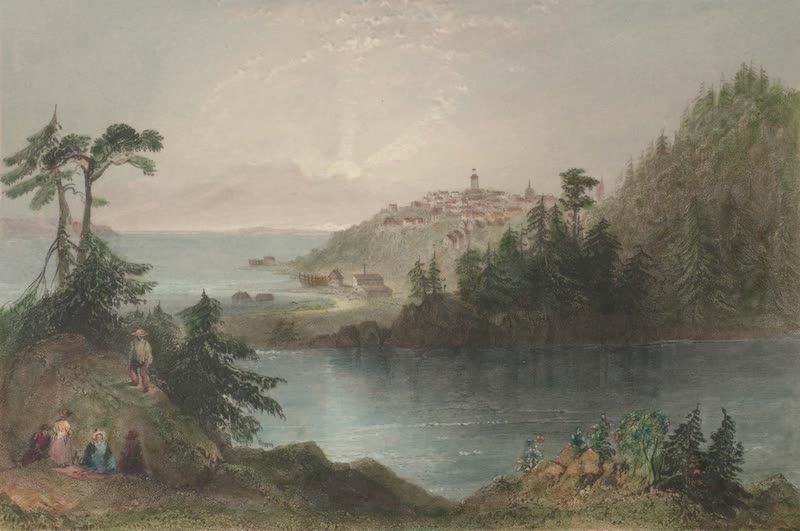 Canadian Scenery Illustrated: Volume 2 - Lily Lake (St. John) (1865)